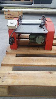 Halbautomatische Etikettiermaschine, Nassleim