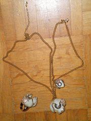 Original Swarovski Set Halskette Ring