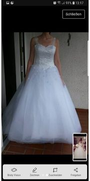 Verkaufe hier ein Brautkleid