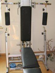 Fitnessgerät/heimtrainer Trainingsbank Mit Fitnessbändern Crane Sports Bauchtr Direktverkaufspreis Ausdauertraining