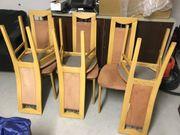 Schöne 6 Holzstühle ...