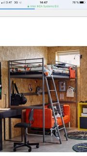 IKEA Hochbett + Matratze