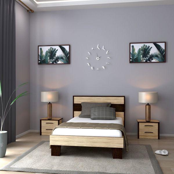 Schlafzimmer Komplettset Skarlet 14 Bett 90 X 200 Nachtkonsole In