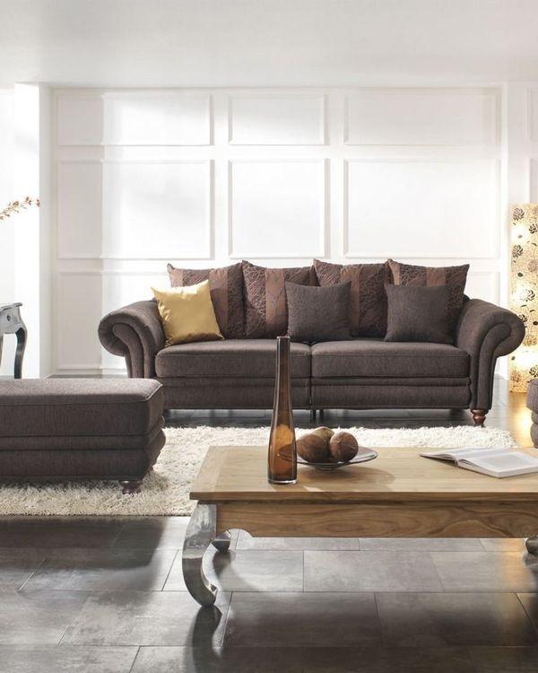 Gutmann Factory Landhaus Sofa Couch Colonial Living Megasofa in ...