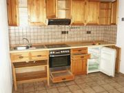 Küchenzeile Echtholz