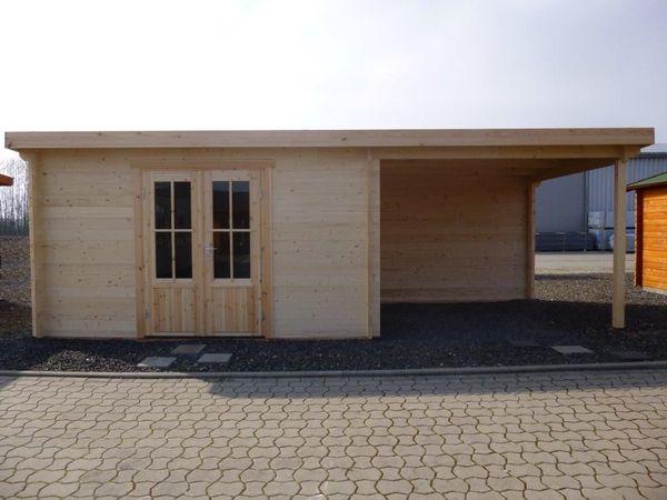 Fußboden Terrasse ~ Gartenhaus blockhaus m m terrasse und fußboden in bad