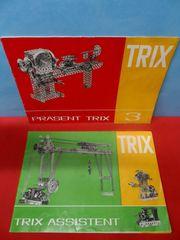 Trix Metallbaukasten - Präsent 3 - Assistent - Bauplan