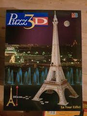 Eiffelturm 3D Puzzle Puzz3D MB