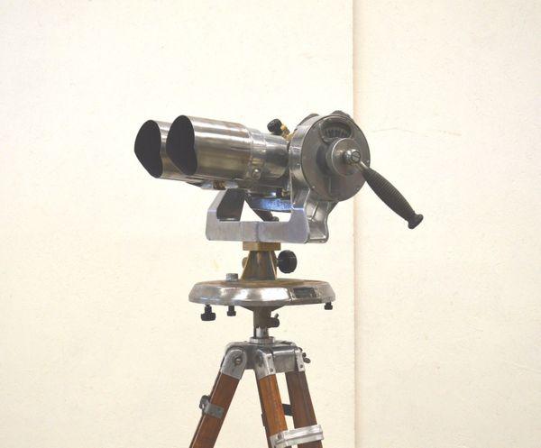 Antik militÄr teleskop tzk ww2 tripod fuß binocular 40er anti