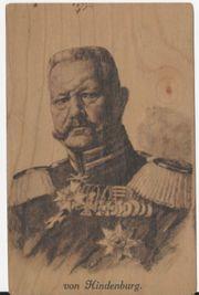 Hindenburg Postkarte
