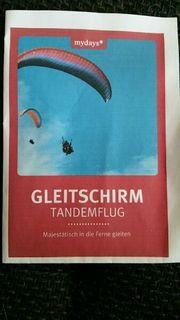 Gleitschirm Tandemflug