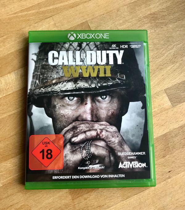 CoD WW2 Xbox One Spiel