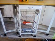 Kesper Küchenwagen beidseitig ausklappbar