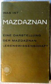 Was ist Mazdaznan-