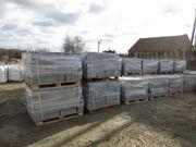 Granitmauersteine 20x20x40, grau,