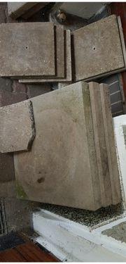Steinplatten zu verschenken