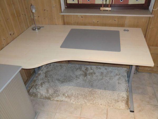Hochwertiger Ahorn Schreibtisch Lampe Teppich In Oberasbach