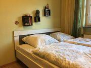 Doppelbett Schlafzimmer Rückenteil