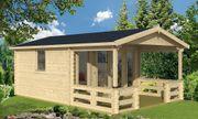 Herlliches Gartenhaus mit schöner Veranda