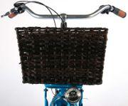 Retro Fahrrad Korb Rattan Korb
