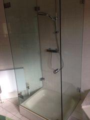 dreiteilige Duschabtrennung