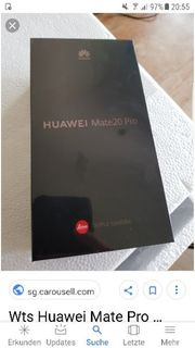 Huawai Mate 20 Pro Neu