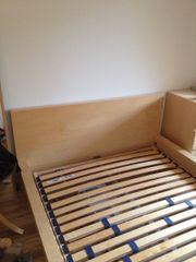 Ikea Malm Bett 140x200cm In Buche
