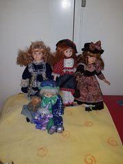 Porzellanpuppe Deko Porzellan Keramik Puppe