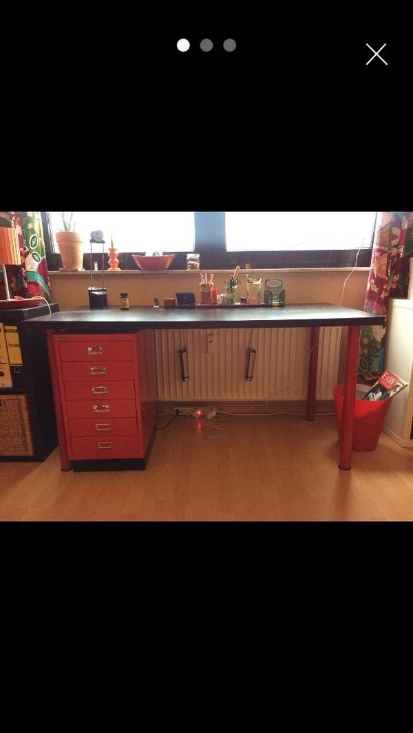 Schreibtisch von Ikea in Marburg - Büromöbel kaufen und verkaufen ...