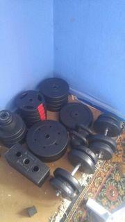 Diverse Bodybuilding Geräte