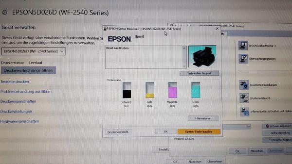 Gemütlich Epson Farbdrucker Testseite Fotos - Dokumentationsvorlage ...