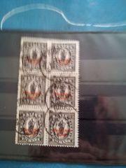 Briefmarken Bayern Abschiedsausgabe von 1920