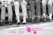 Wandkalender - Füße 2018 -