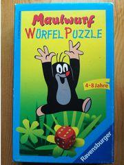 Maulwurf Würfel Puzzle auch zu