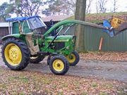 Schlepper Traktor 1120 Baas Frontlader
