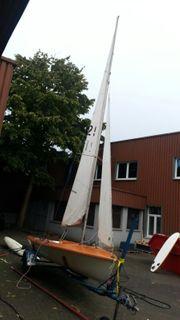 Segelboot Segel Jolle Klepper Trainer