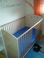 Kinderbett in Birke