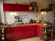 Sehr gepflegte Küche -