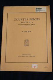 Courtes Pieces - Album