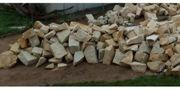 Sandstein Bruchsteine