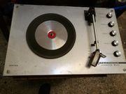 Schallplattenspieler, Vintage, alt,