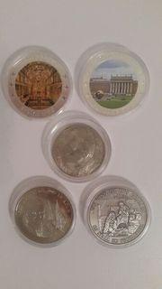 Münzen - 5 Stück