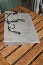 Verkaufe selbst gebaute Gitarren Bass-Effektboard-Trägerplatte