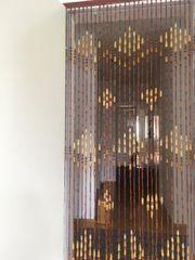 Holz perlenvorhang