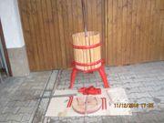Spindelpresse aus Holz 50 l