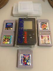 GameBoy Pocket schwarz