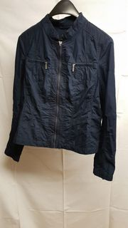 blaue dünne Jacke von Bonita