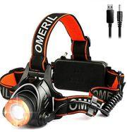 OMERIL LED Stirnlampe Wasserdicht 2000