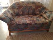Sofa Zweisitzer aus Kirschholz