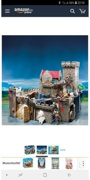 Playmobil Ritterburg 6000 und viel